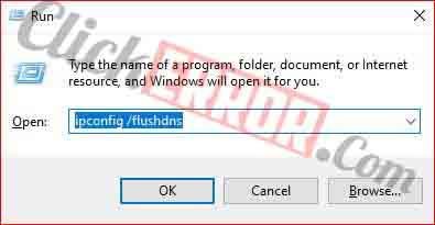 Flush DNS Cache Using Windows Command