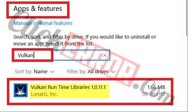 Vulkan Run Time Libraries In Windows