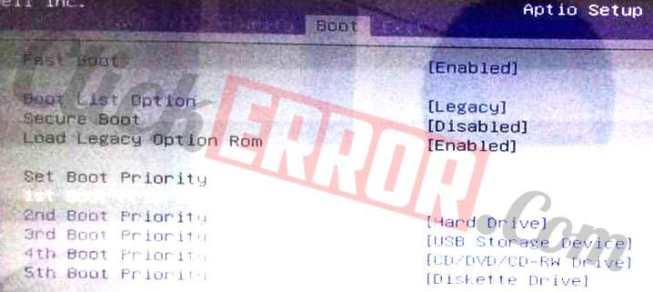 Fix Intel UNDI PXE-2.0 (Build 083) Error