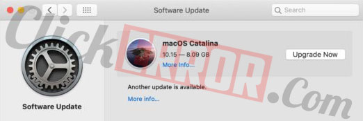 Hide MacOS Catalina From Software Update